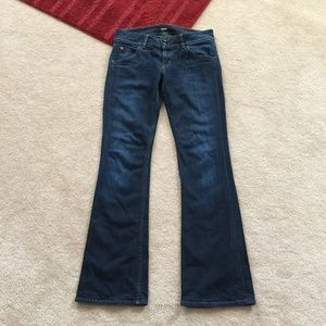 Hudson 29 Signature Bootcut Jeans Long Inseam